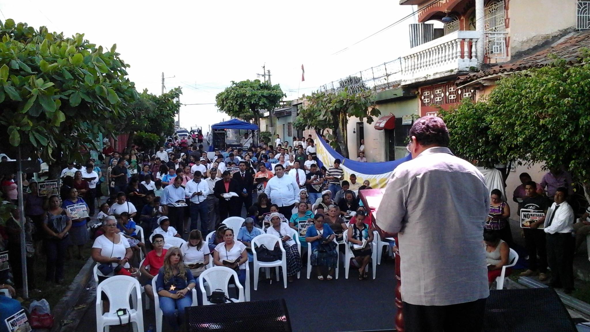 Evento de Oración en Cuscatlán: Paz para nuestra nación
